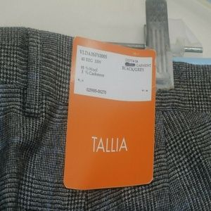 Men's Tallia Glen Plaid Suit 40R  wool/cashmere